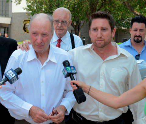george-souliotes-l-is-released-from-prison-with-sons-r-and-back-r-back-left-morrison-foerster-lead-trial-counsel-james-j-brosnahan-who-secured-souliotes-release-photo-by-donald